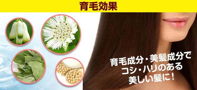 イクモアプレミアムサプリの育毛効果